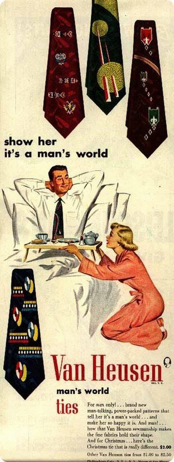 mundo é dos homens