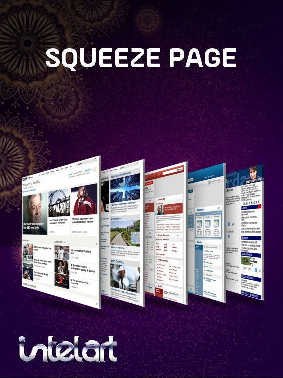Squeeze-page-intelart